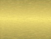 Metal texture. Vector of golden metal texture illustration Stock Photography