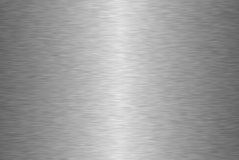 Metal texture. The horizontal  grey metal texture Royalty Free Stock Photos
