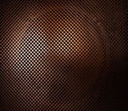 Metal Texture. Close-up image of front of a loudspeaker stock image