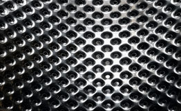 Metal texture Stock Images