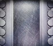 Metal Texture. Metal shine illuminated texture (grunge Royalty Free Stock Photo