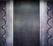 Metal Texture. Metal shine illuminated texture (grunge Royalty Free Stock Photos