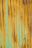 Metal texture. A rusty corrugated iron metal texture Royalty Free Stock Images