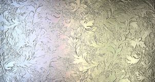 Metal Texture. With beautiful pattern Royalty Free Stock Photos