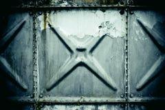 Metal texture. Squares of distressed metal texture Royalty Free Stock Photos