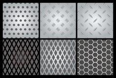 Free Metal Texture 6 Set Stock Photography - 15351182