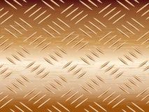 Metal texture. Shiny borwn metal texture illustration Royalty Free Stock Photo