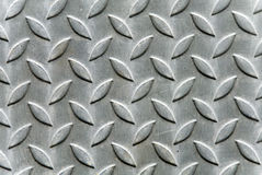 Metal texture. A metal plate with leaves - for background use Royalty Free Stock Photo