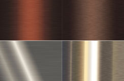Metal texture. Texture of a metal background Royalty Free Stock Images