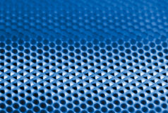 Metal texture background. Fine close up image blue tone Stock Photos