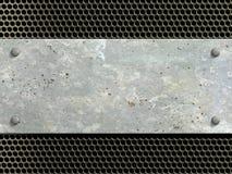 Metal texture background Stock Image