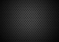 Metal texture background with square holes Stock Photography