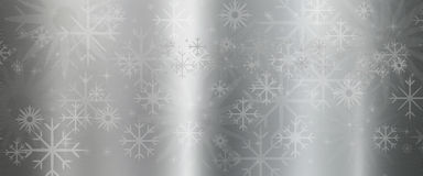 Metal texture background with star vector illustration