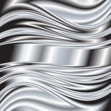 Metal texture background. Vector 1 Stock Images