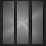 Metal Texture Banner. Royalty Free Stock Photo