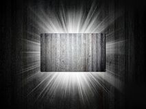Metal texture of business card 3d presentation Stock Photography