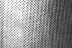 Metal texture with circle pattern Stock Image
