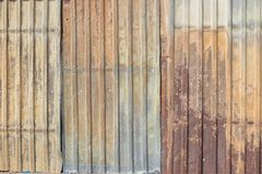 Metal texture with corrugated and rust Royalty Free Stock Photos