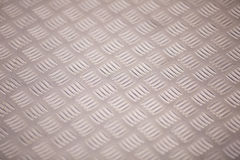 Metal Texture. Diamond plate metal texture close-up Stock Photography