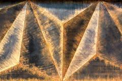 Metal texture the jammed rust. Stock Photo