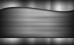 Metal texture neutral background Royalty Free Stock Photography