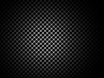 Metal texture / pattern with holes Stock Images