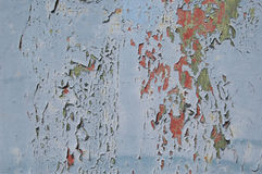 Metal texture with scratches and cracks, cracked paint Royalty Free Stock Image
