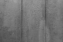 Metal texture with scratches and cracks Royalty Free Stock Photography