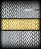 Metal texture. Vector background. Fluted silver metal texture. Vector background Illustration Stock Photo