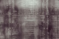 Metal texture on the wall. Abstract background metal texture on the wall. Vintage background texture for design and art can be used as a cover for brochures stock photography