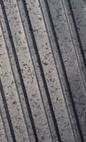 Metal texture. Metal wall with vertical indignation texture Stock Image