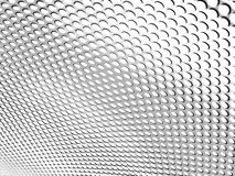 Metal texture. On white background Royalty Free Stock Images