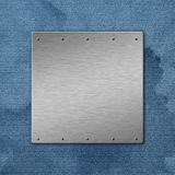 Metal textured background Royalty Free Stock Image