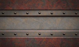 Metal textured background. Stock Photography