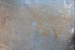Metal textured manchado e pintado imagem de stock royalty free