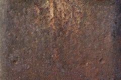 Metal textured oxidado e pintado foto de stock