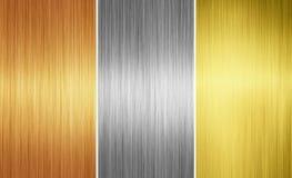 Metal textures Stock Images