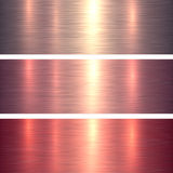 Metal textures pink and red Stock Photography