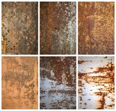 Metal textures Stock Images
