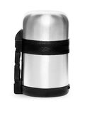 Metal thermos collection isolated on white background Stock Photography