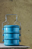 Metal Tiffin carrier, thai food carrier Royalty Free Stock Photography