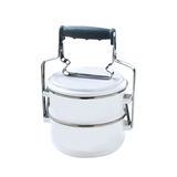 Metal Tiffin, Food Container Royalty Free Stock Photos