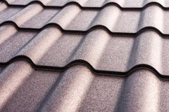 Metal tile texture. Metal tile as a texture royalty free stock photography