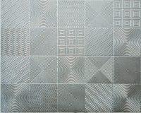 Metal tile Stock Photo