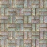 Metal tiles Royalty Free Stock Photos