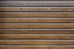 Metal timber wall Royalty Free Stock Images