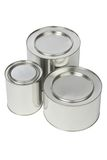 Metal tin Stock Image