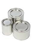 Metal tin Stock Image