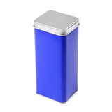 Metal tin Royalty Free Stock Image