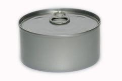 A metal tin. Stock Photography